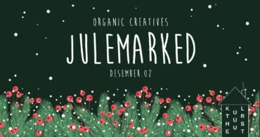 Velkommen til Organic Creatives Julemarked 2 desember